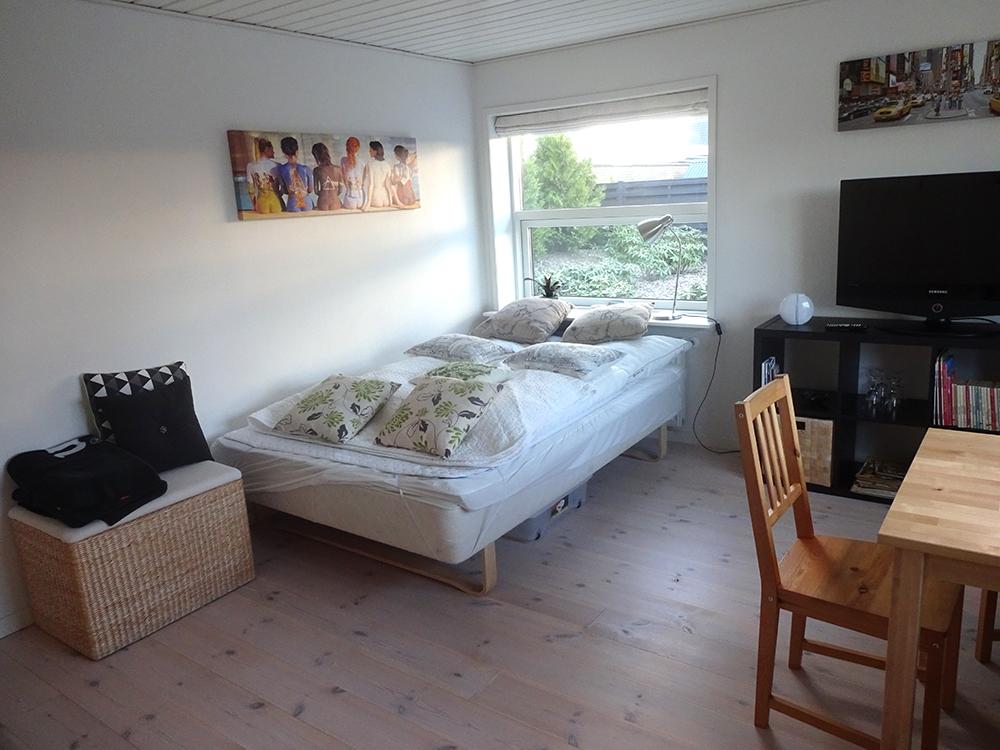 Foto af stort værelse